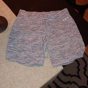 Girls Justice drawstring sweat shorts size 10